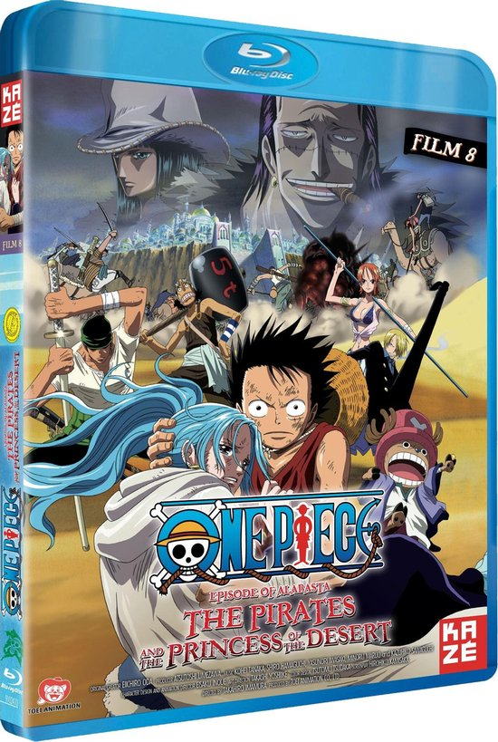 Cover van de film 'One Piece Movie 8 - The Pirates And The Princess Of The Desert'
