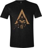 Assassin's Creed Odyssey - Character Logo Mannen T-Shirt - Zwart - XL