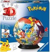 Ravensburger 3D-puzzel Pokémon Bal - 72 stukjes