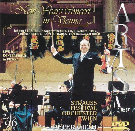 CD cover van New YearS Concert van Peter Guth