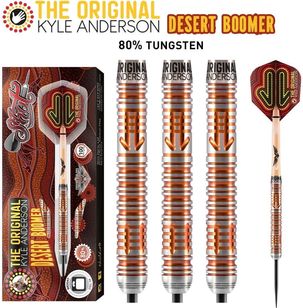 Shot Kyle Anderson Desert Boomer 80% - 23 Gram