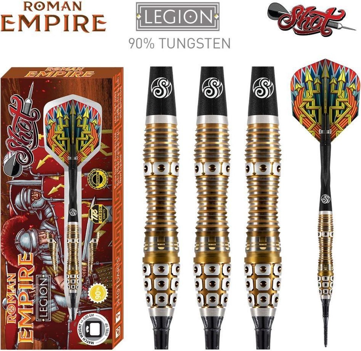 Shot Roman Empire Legion 90% Soft Tip - 20 Gram