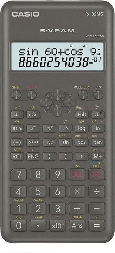 Rekenmachine Casio FX-82MS 2nd edition