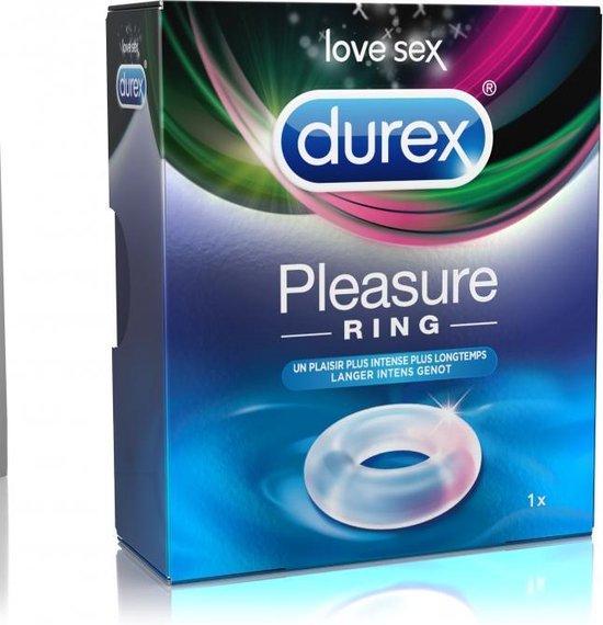 Durex Pleasure Ring Cockring - Transparant
