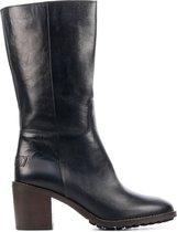 Zwarte Dames Klassieke Laarzen van Shabbies Amsterdam online