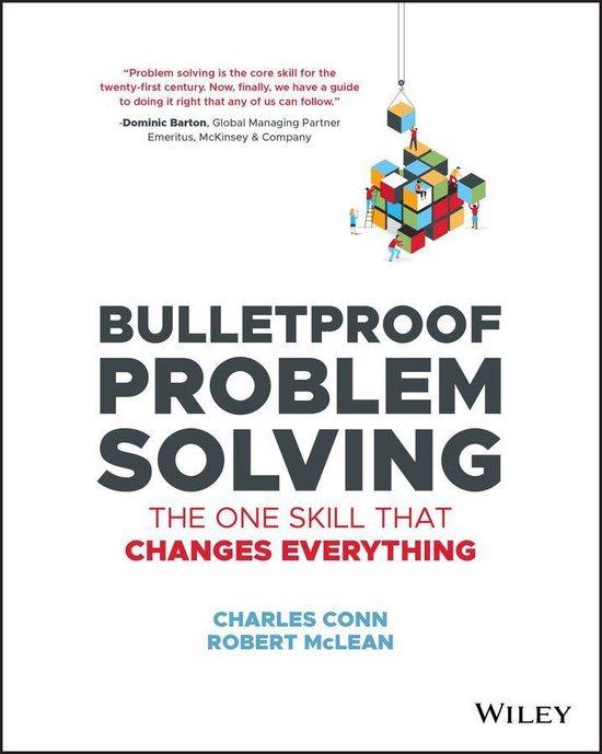 Boek cover Bulletproof Problem Solving van Charles Conn (Onbekend)