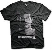 UNCHARTED 4 - T-Shirt Pirate - Black (L)
