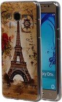 Wicked Narwal   Eiffeltoren TPU Hoesje voor Samsung Galaxy On 5