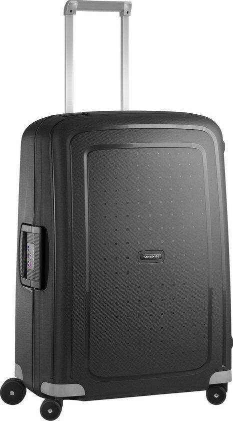 Samsonite S'Cure Spinner Reiskoffer 79 liter - Zwart