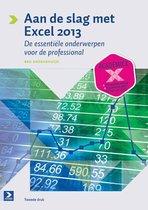 Boek cover Aan de slag met Excel 2013 van Ben Groenendijk