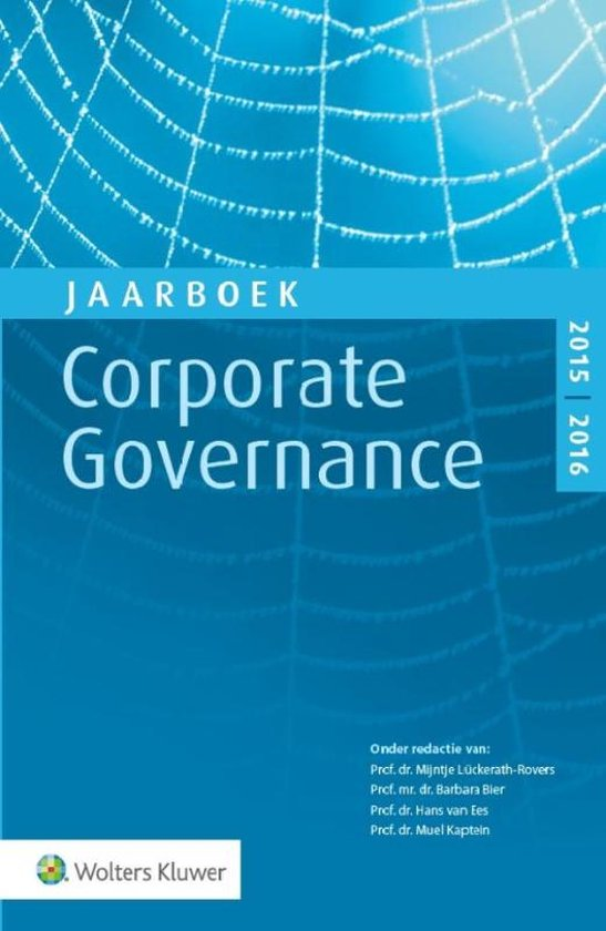 Jaarboek Corporate Governance 2015-2016