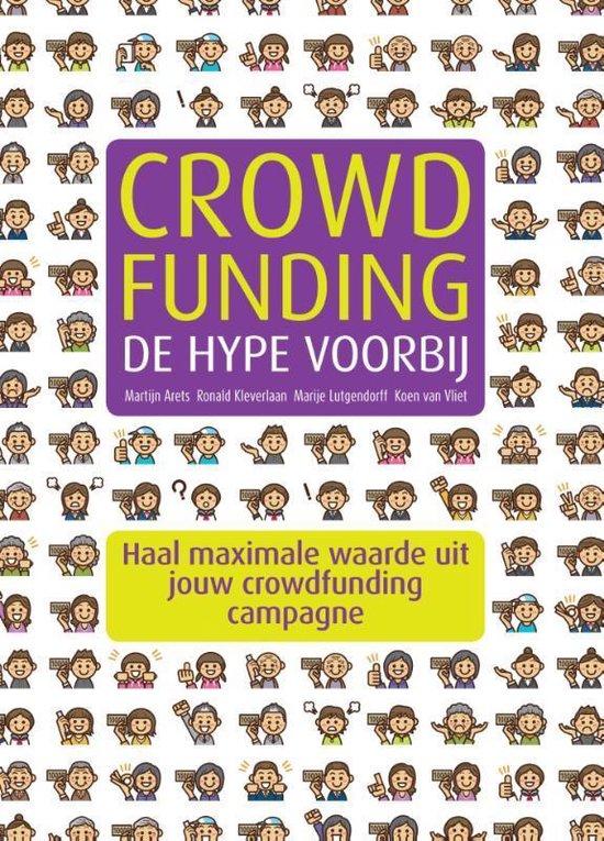 Boek cover Crowdfunding, de hype voorbij van Martijn Arets (Paperback)