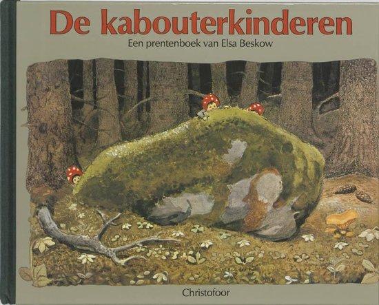 Omslag van Elsa Beskow klassiekers  -   De kabouterkinderen