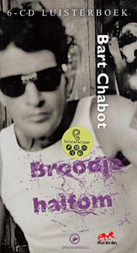 CD cover van Broodje Halfom Luisterboek van Bart Chabot