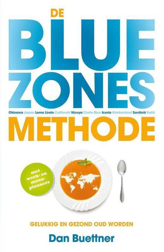 Boek cover De blue zones-methode van Dan Buettner (Paperback)