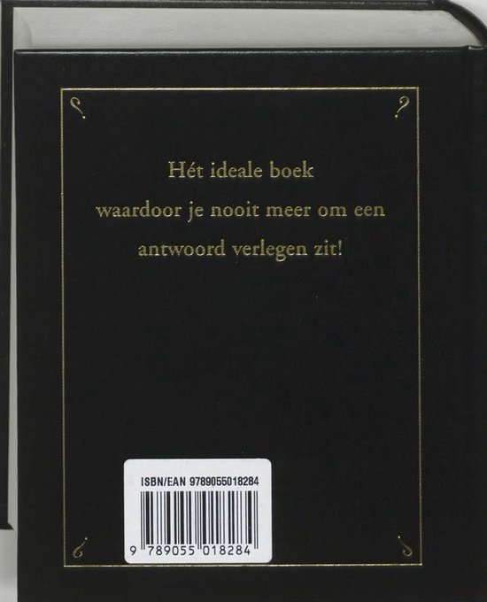 Het boek met alle antwoorden - geb