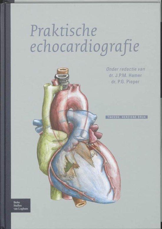 Boek cover Praktische echocardiografie van N J Elzenga (Hardcover)