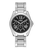 IKKI NOVA NV06 Horloge - Zilver/Zwart