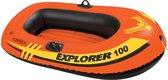 Intex Explorer Pro 100  Opblaasboot - 1 Persoons - Oranje