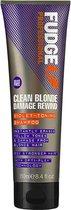 Fudge Clean Blonde Damage Rewind Violet Shampoo - 250 ml