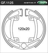 Remsegmentset Newfren GF1125 Kreidler ø120