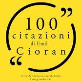 100 citazioni di Emil Cioran