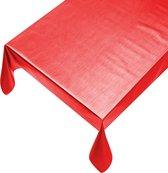 Tafelzeil Metallic Rood - Beschikbaar in 12 maten