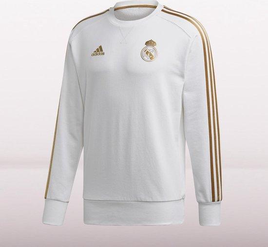 bol.com | adidas Real Madrid Trui 2019/2020 Heren - Wit - Maat S