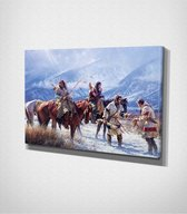 Native American - Painting Canvas | 40x60 cm