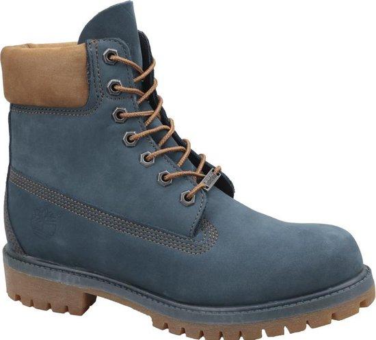 Timberland 6 Inch Premium Boot A1LU4, Mannen, Blauw, Laarzen maat: 44 EU