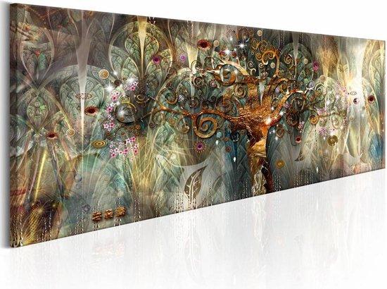 Schilderij - Land van Geluk , multi kleur