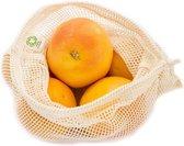 Fruit en Groente netje - Maat M Groentezakje - M