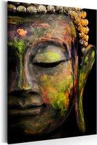 Schilderij - Grote Boeddha