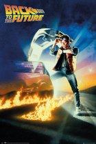 Back to the Future-Steven Spielberg-Delorean-poster 61x91.5cm.