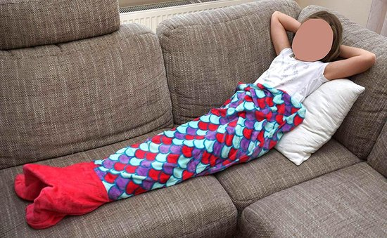 Zeemeermin deken Mermaid-zeemeermin-staart-mermaid-plaid-Mermaid-deken-een droom voor kinderen die zich graag op hun gemak voelen.