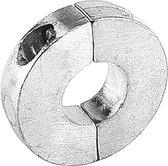 Talamex platte zinken Schroefas Anode voor as Ø25 mm