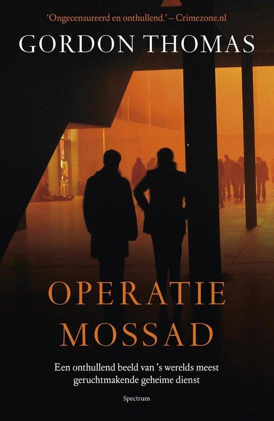 Operatie Mossad - Gordon Thomas | Fthsonline.com