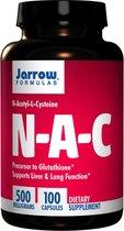 N-A-C N-Acetyl-L-Cysteine 500 mg (100 Capsules) - Jarrow Formulas