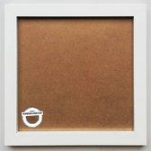 Homedecoration Victoria – Fotolijst – Fotomaat – 21x21 cm – wit
