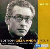 Edition Geza Anda (Ii) - Beethoven/Brahms /Liszt