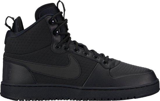 Nike Court Borough Mid Winter  Sneakers - Maat 42.5 - Mannen - zwart