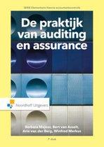 Boek cover Elementaire theorie accountantscontrole - De praktijk van auditing en assurance van Barbara Majoor (Paperback)