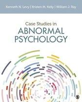Boek cover Case Studies in Abnormal Psychology van Kenneth N. Levy