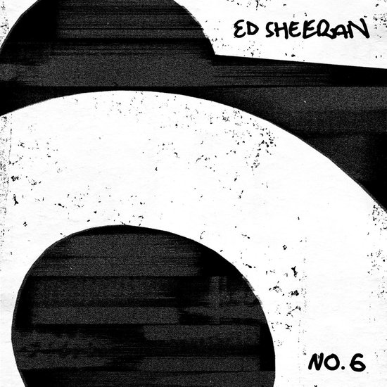 CD cover van No.6 Collaborations Project van Ed Sheeran