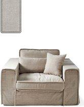 Rivièra Maison Metropolis Love Seat - 1,5-zitsbank - Asgrijs