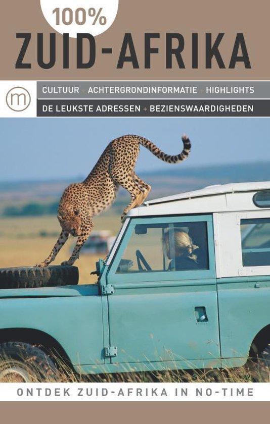 Cover van het boek '100% Zuid-Afrika' van Peter Wulff Kåri