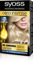 SYOSS Color Oleo Intense 12-00 Zilverblond Haarverf - 1 stuk