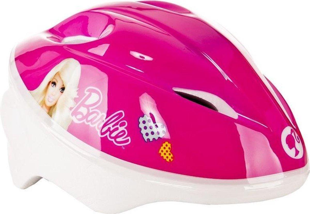 Dino Barbie roze fietshelm meisjes 48-54cm 3 jaar