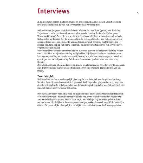 Vertrouwen - Aan het werk met risicojongeren van de Cariben