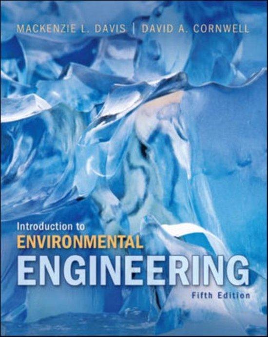 Boek cover Introduction to Environmental Engineering van Mackenzie Davis (Hardcover)
